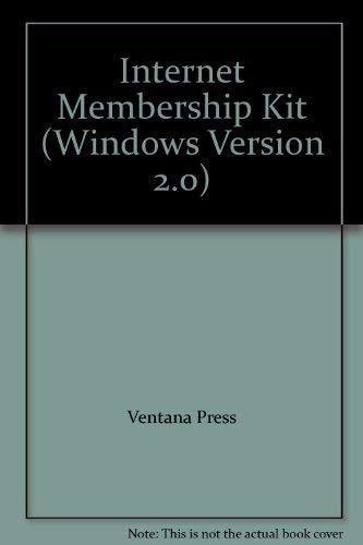 9781566042123: Internet Membership Kit: Version 2.0: Disk (Windows) (Windows Version 2.0)
