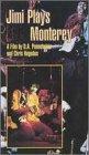 9781566053358: Jimi Plays Monterey [VHS]