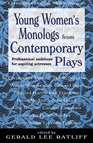 9781566080972: Young Women's Monologues from Contemporary Plays: Professional Auditions for Aspiring Actresses
