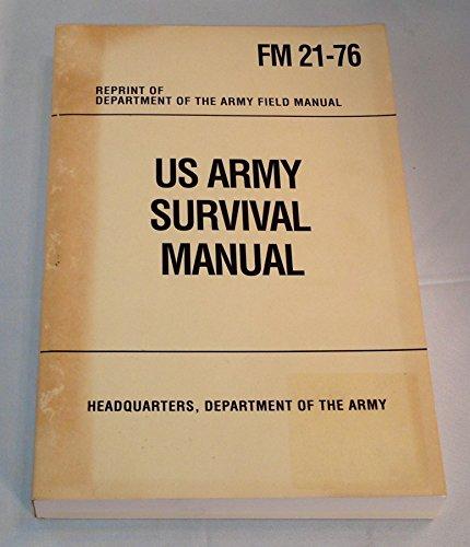 9781566190220: U.S. Army Survival Manual: FM 21-76