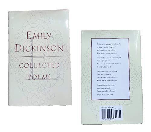 Collected Poems of Emily Dickinson, Dickinson, Emily