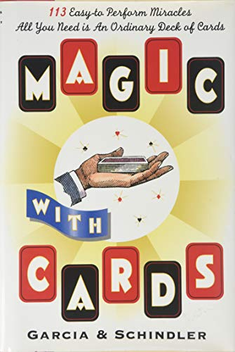 9781566191241: Magic with Cards: 113 Easy-to-Perform Miracles with an Ordinary Deck of Cards