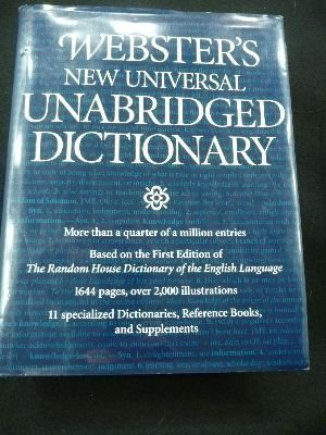 9781566191470: Websters New Universal Unabridged Dictionary