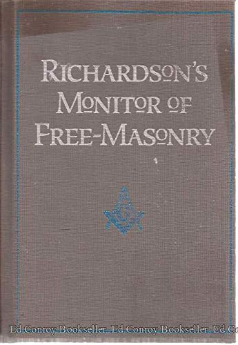Richardson's Monitor of free-masonry: Being a practical: Jabez Richardson