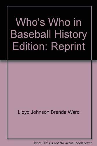 Who's Who in Baseball History: Lloyd Johnson, Brenda