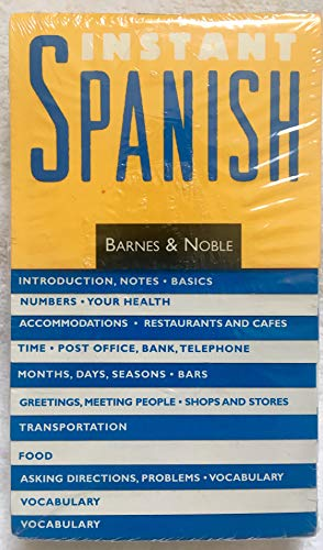 9781566195102: Instant Spanish