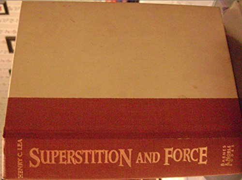 9781566197243: Superstition and force;: Torture, ordeal, and trial by combat in medieval law