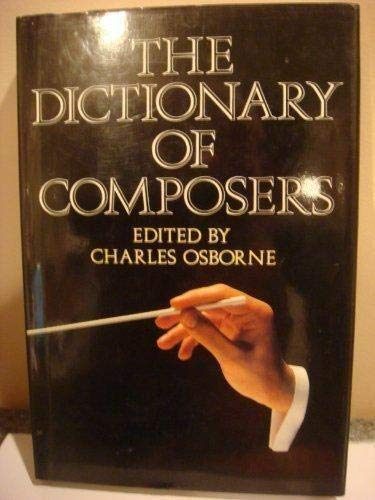 9781566197854: Dictionary of Composers