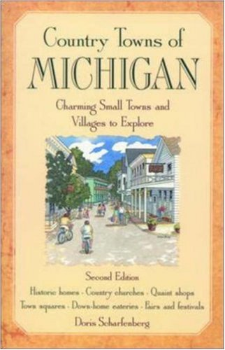 9781566260985: Country Towns of Michigan