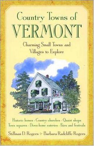 9781566261951: Country Towns of Vermont