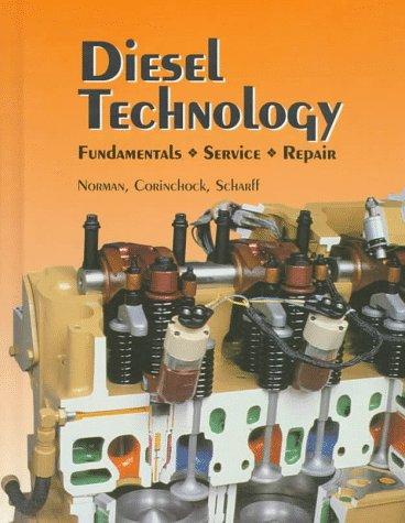 9781566370141: Diesel Technology: Fundamentals, Service, Repair
