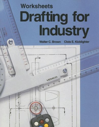 9781566370493: Drafting for Industry (Worksheets)