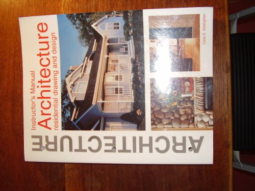 9781566371247: Architecture: Residential Drawing and Design : Instructor's Manual