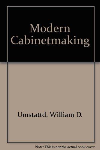9781566373210: Modern Cabinetmaking