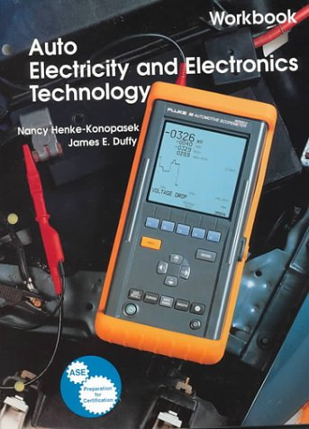9781566374422: Auto Electricity and Electronics Technology (Workbook)