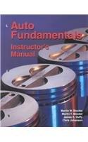 9781566375795: Auto Fundamentals, Instructors Manual