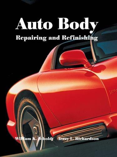 9781566375870: Auto Body Repairing and Refinishing