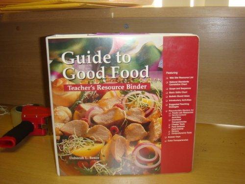 9781566376280: Guide to Good Food: Teacher's Resource Binder