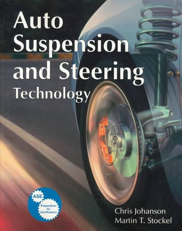 9781566376983: Auto Suspension and Steering Technology