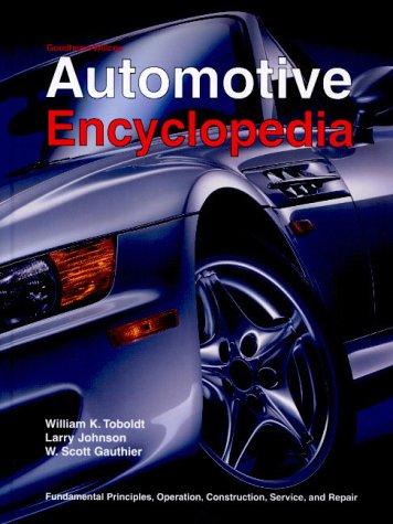 9781566377133: Automotive Encyclopedia (Goodheart-Willcox Automotive Encyclopedia)