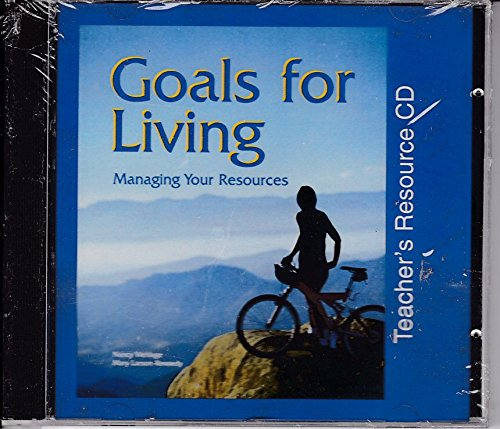 9781566377638: Goals for Living Managing Your Resources: Teacher's Resource CD