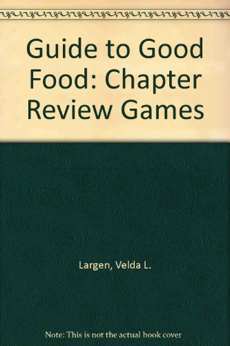 9781566377720: Guide to Good Food: Chapter Review Games