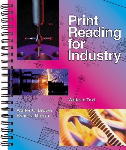 9781566378079: Print Reading for Industry