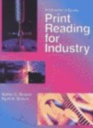 Print Reading for Industry, Instructor's Guide (1566378087) by Walter C. Brown; Ryan K. Brown