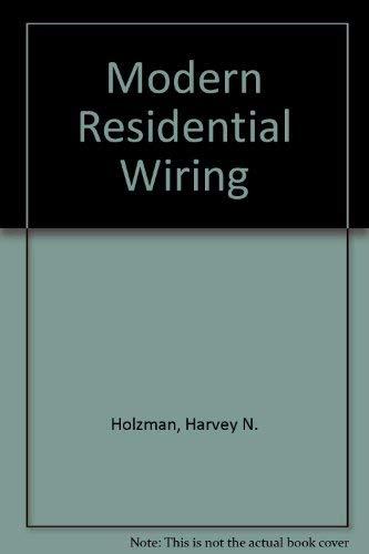 9781566379151 modern residential wiring abebooks harvey n rh abebooks com modern residential wiring ebook modern residential wiring ebook