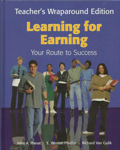 9781566379403: Learning for Earning: Your Route to Success