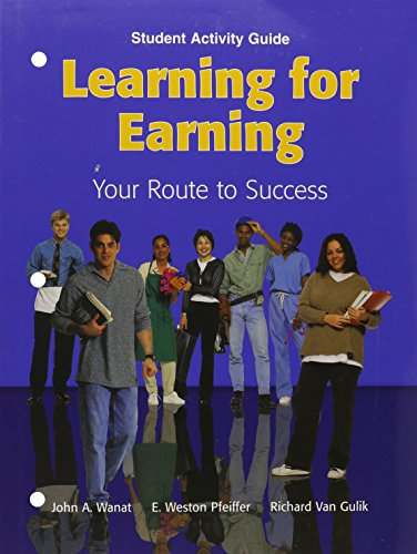 9781566379410: Learning for Earning: Your Route to Success