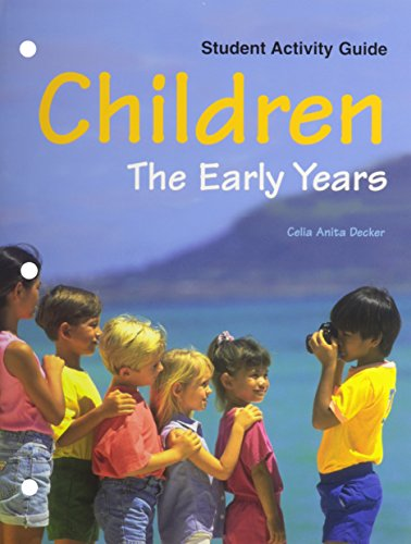 9781566379472: Children: The Early Years(Study/Activity guide)