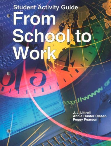 9781566379700: From School to Work: Student Activity Guide