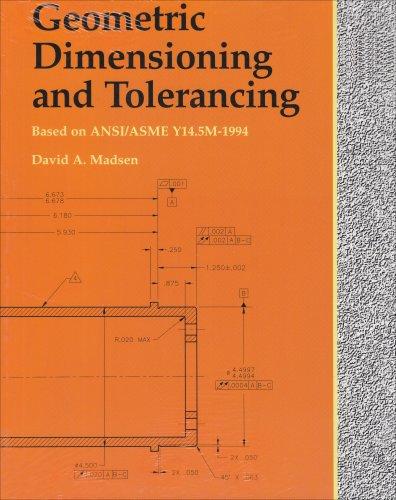 9781566379779: Geometric Dimensioning and Tolerancing