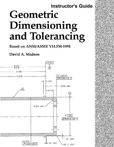 9781566379786: Geometric Dimensioning and Tolerancing, Instructor's Guide