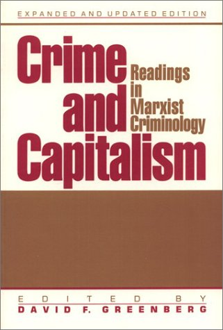 9781566390255: Crime and Capitalism: Readings in Marxist Criminology