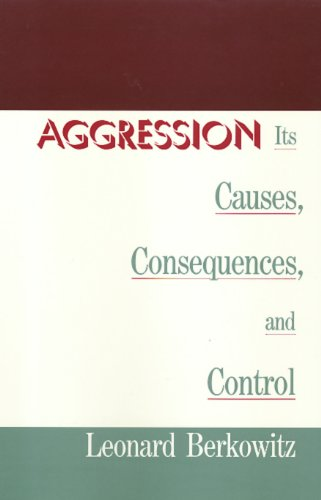 9781566390330: Aggression: Its Causes, Consequences, and Control