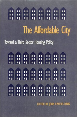9781566391092: Affordable City (Conflicts In Urban & Regional)