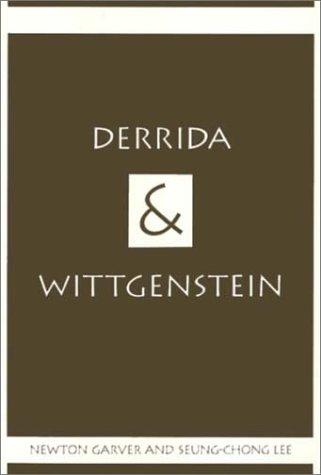 9781566391726: Derrida and Wittgenstein