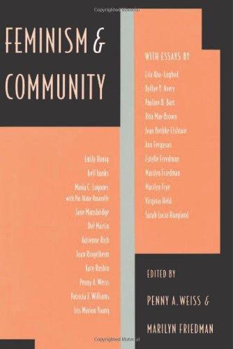 Feminism & Community: Weiss, Penny