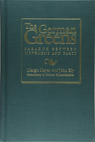 9781566395151: The German Greens: Paradox between Movement and Party