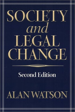 9781566399197: Society and Legal Change