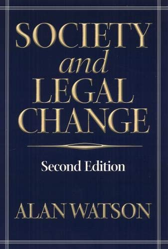 9781566399203: Society And Legal Change 2Nd Ed