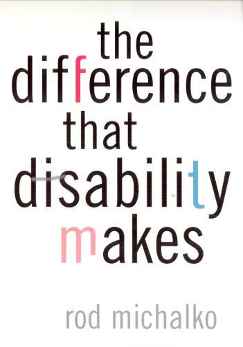 9781566399340: The Difference That Disability Makes