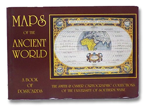 9781566409667: Maps of the Ancient World/Post-Card Books