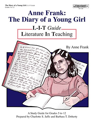 9781566440035: Anne Frank: Diary of a Young Girl L-I-T Guide