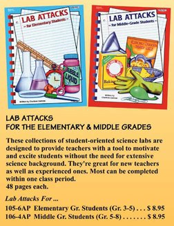 9781566441063: Lab Attacks-Middle Grade Students