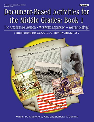 9781566441100: Document Based Activities Using Primary Sources in the Middle Grades (Document Based Activities Grades 5 to 8) Book 1