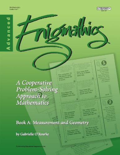 9781566443098: Enigmathics: A Cooperative Problem-Solving Approach to Mathematics, Book A: Measurement & Geometry, Advanced, Grades 4-7