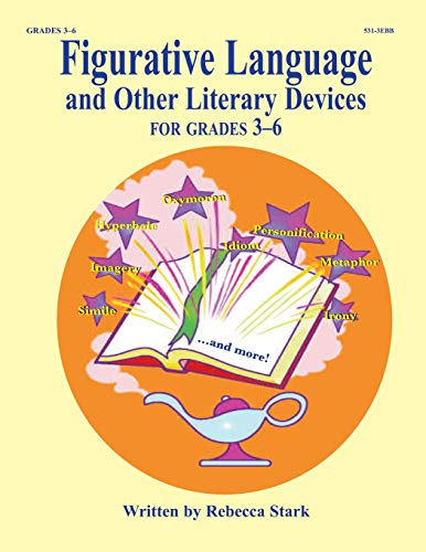 9781566445313: Figurative Language & Other Literary Devices for Grades 3-6